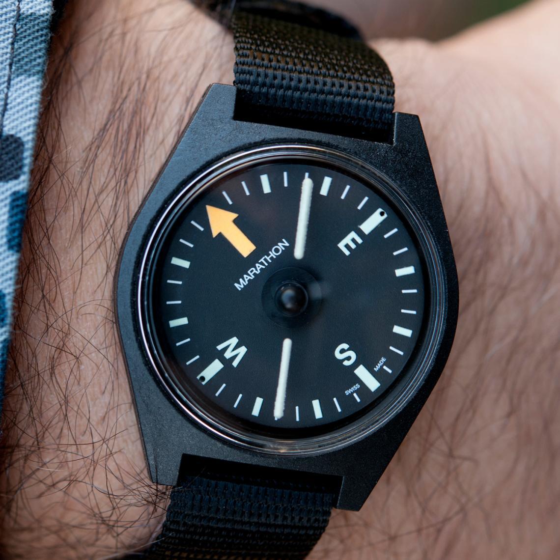Marathon Unmounted Wrist Compass ⋆ Windy City Watch Collector