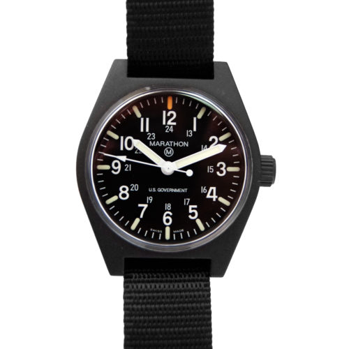 General purpose watch with maraglo luminova dial