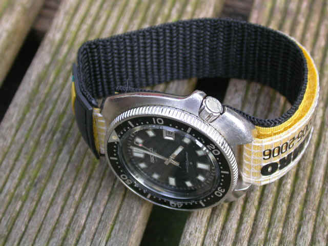 strap artemisia custom watches webbing nato watch