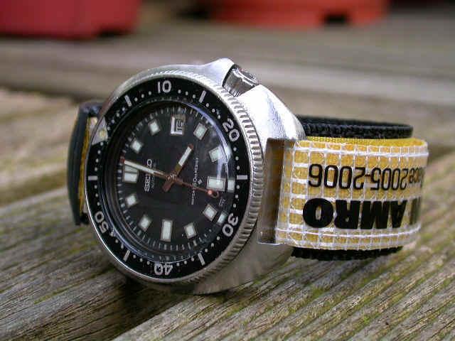 Velcro volvo ocean race kevlar dive watch band windy - Oceanic dive watch ...