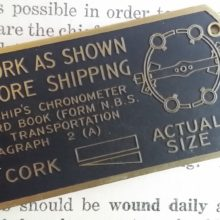 Cork as shown plate