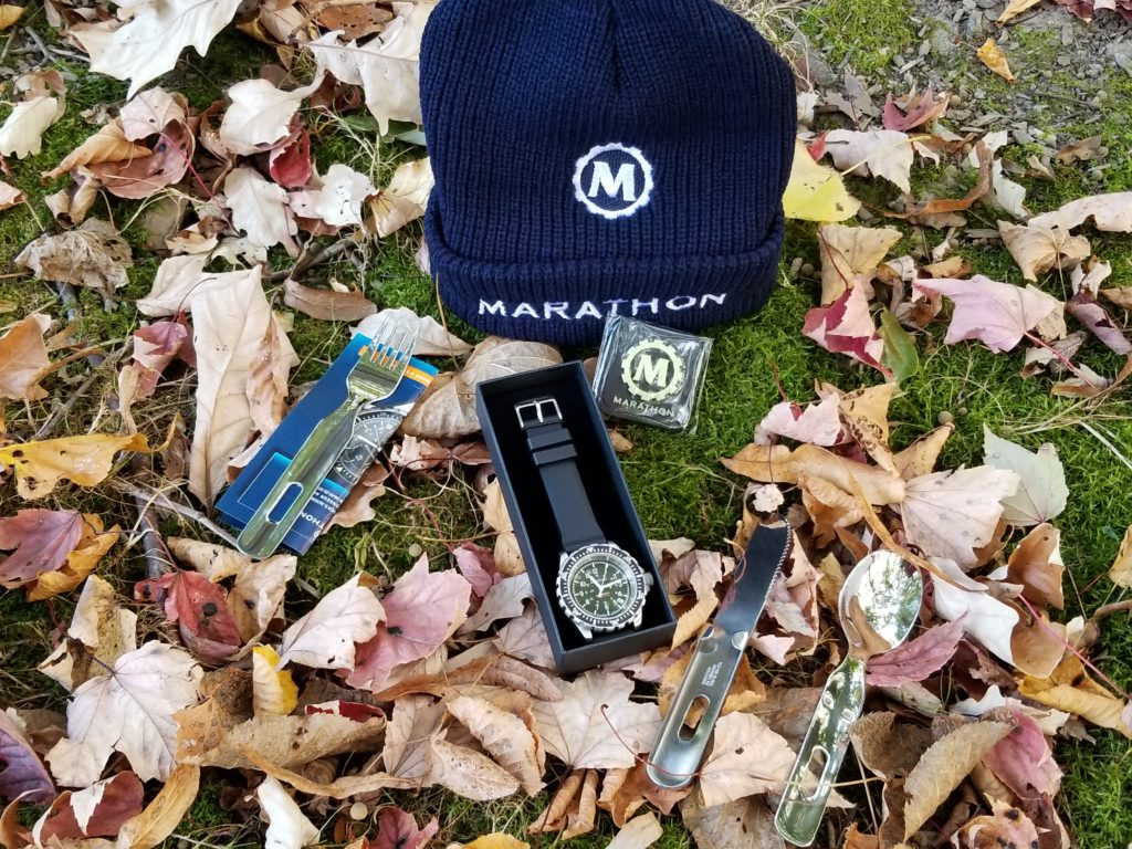 Marathon military watch promotion