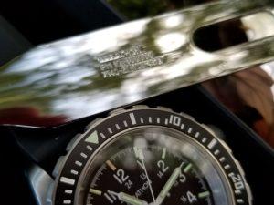 Marathon military watch: GSAR + utensils