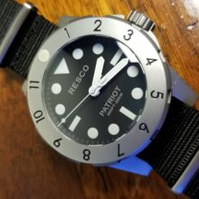 RESCO Stainless Stealth Watch Gen 1